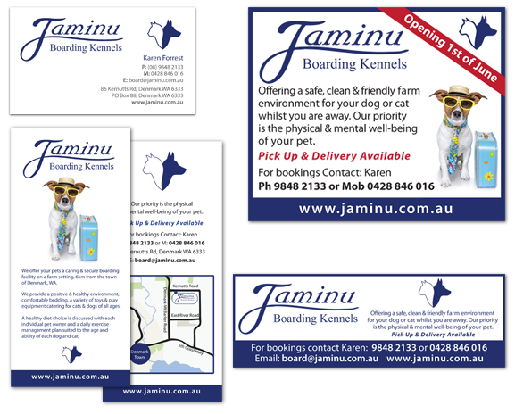 Business Cards, Rack Cards and Adverts