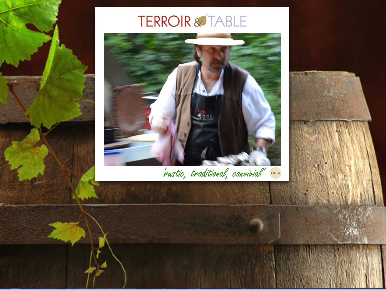 Website Design - Terroir & Table