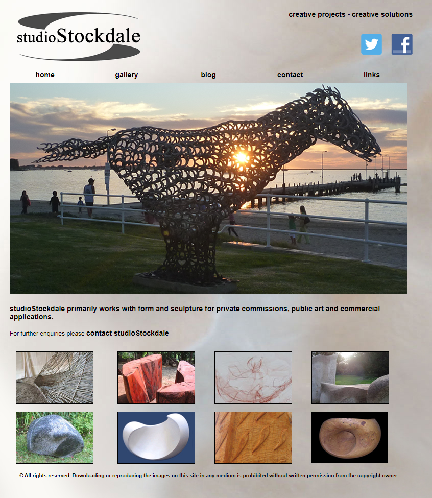 studioStockdale Website