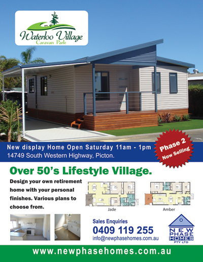 New Phase Homes Advert